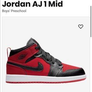 Little Boys Jordan 1s